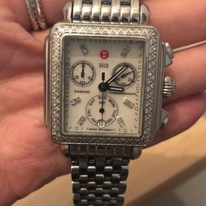 Michele Deco Diamond, Diamond Dial Watch